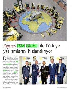 Hyster TSM Global İle