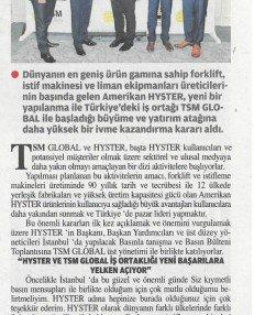 Hyster Türkiye Yatırımları