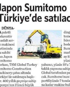 Japon Sumitomo Türkiye'de
