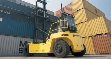 HYSTER Forklifts and Conteiner Handlers